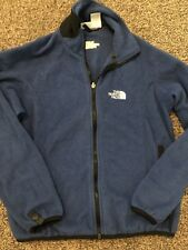 Womens The North Face Zip Up Jacket Size Small EUC Royal Blue
