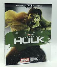 Incredible Hulk, The [2008] (Blu-ray+Digital, 2018; MCU Phase One) w/ Slipcover