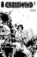 CROSSWIND #5 B&W WALKING DEAD #54 TRIBUTE VARIANT COVER 10/25/17