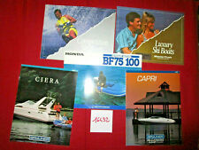 N°16432  / catalogue bateau et moteur HONDA / BAYLINER / MASTER CRAFT