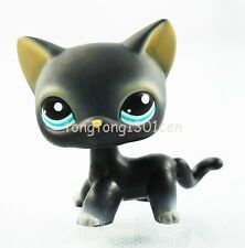 Rare Black Cat Blue Eyes Hasbro Littlest Pet Shop LPS Toys Animals #994