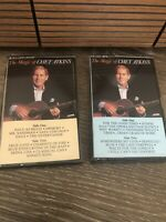 The Magic Of Chet Atkins Lot Of 2: Volume 1 & 2 Cassette Tape