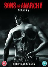 SONS OF ANARCHY COMPLETE SEASON SERIES 7 DVD Seven Seventh New Sealed