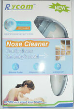 Rycom Baby Nose Cleaner, Fast Hygenic Efficient Snot Sucker When Baby Has A Cold