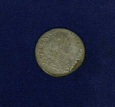 "FRANCE  ORANGE  GUILLAUME-HENRI of NASSAU  1666 ""1/12 ECU"" SILVER COIN, AU/UNC."