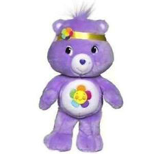 "Care Bears Plush Purple Harmony Bear 12"" Soft Stuffed Rag Doll - New Gift Cheap"
