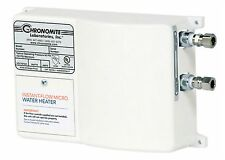Chronomite M-40/208 Instant-Flow Micro Tankless Electric Hot Water Heater 110F