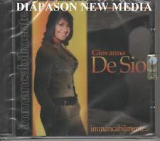 GIOVANNA DE SIO - IMMANCABILMENTE - CD