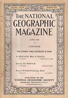 1920 National Geographic June-Birds of Peru; Saving the Redwoods; Coles Phillips