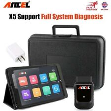 "WiFi Full Systems Car Obd2 Scanner 8""tablet ABS SRS EPB Oil Diagnostic Tool UK"