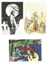 Dampyr (con Tex e Zagor) - Set di 5 cartoline - Cartoon Club 2011