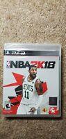 NBA 2K18 Sony PlayStation 3 BRAND NEW Factory Sealed PS3 Basketball 2018