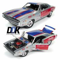 AUTOWORLD AW238 1970 DODGE CHARGER R/T DICK LANDY NHRA RACE DIECAST CAR 1:18