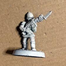 40k Praetorian Guard Lasgun Metal Citadel Metal OOP Imperial Guard