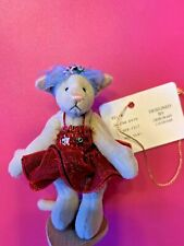 Deb Canham Bianca Cat Circus Collection Little Gem Miniatures Teddy Bears