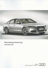 AUDI A6 hybrid / A6 allroad quattro S6 C7 Betriebsanleitung 2014 Handbuch BA
