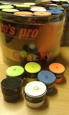 60 Tacky GRIPS nastri GRIP TENNIS 0,5mm (Libera scelta del colore) Pro 'S PRO