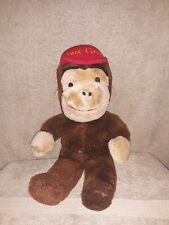 Vintage Curious George Musical Plush