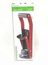 Progressive Can Crusher Wall Mount Crush Cans With Ease Soft Grip Handle