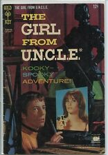 Girl From Uncle 1967 series # 5 good comic book