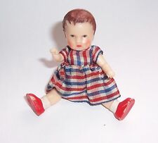 Alte Puppenstuben Puppe Ari Germany 10 11 Puppenhauspuppe ! (N1