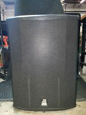 """Two(2) DB Technologies Sub 18H 18"""" 2000W Peak Active Subwoofers with Onboard DSP"""