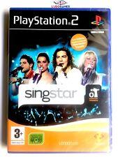 Singstar OT Operación Triunfo PS2 Playstation Nuevo Precintado Videojuego New