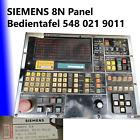 SIEMENS 8N Sinumerik System 8 OP Bedientafel 54802190011 Panel N8 TOP****