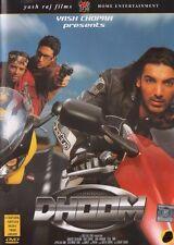 DHOOM YESH RAJ FILMS ORIGINAL BOLLYWOOD DVD - Abhshek Bachchan, Uday Chopra