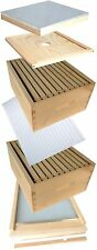 Complete Hive Kit by ApiHex | 2 Deep Body with Full Beehive Parts (Unassembled)