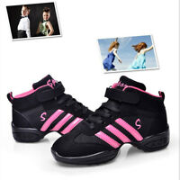 Child Kid Dance Shoe Sneaker Bloch Style Heel for Jazz Hip Hop Gymnastics Hiking