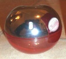 EMPTY DKNY Red Delicious Perfume Spray Bottle and box