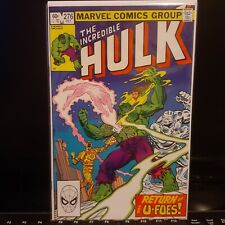 The Incredible Hulk #276 U Foes Marvel Comics 1982