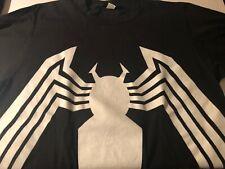 Vintage Venom Changes Lisc. Marvel T-Shirt Front Back Print Spiderman Comic Lg