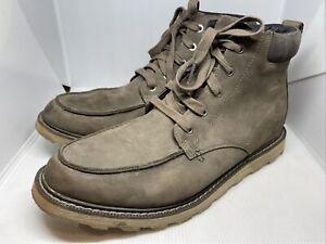 Sorel Men's Fulton Waterproof Boot In Grey Suede Size 11 MSRP $139.99