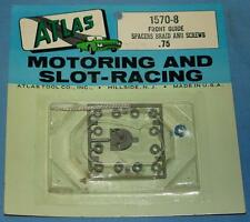 Atlas S 00004000 Lot Car Racing 1:32 Chassis Replacement Parts Front Guide Braid & Spacers