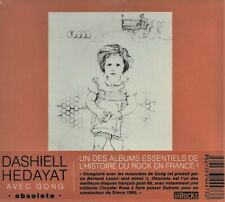 CD - Dashiell HEDAYAT + GONG - Obsolete - NEW, SEALED - MUSEA