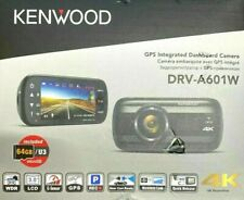 Kenwood Dash Camera Model:DRV-A601W 4K GPS Integrated OPEN BOX.