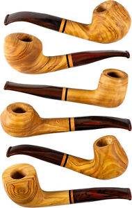 Jean Claude Whistles Olive Wood/Mouthpiece Acrylic Cumberland / 9 MM/6 Models
