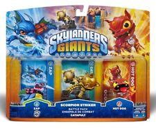 Skylanders Giants SCORPION STRIKER BATTLE PACK HOT DOG ZAP CATAPULT Xmas Gift