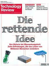 Technology Review, Ausgabe August 08/2014: Die rettende Idee +++ wie neu +++
