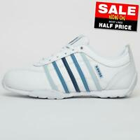 K Swiss Arvee 1.5 Mens Leather Classic Casual Retro Athletic Trainers White