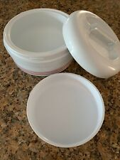 VINTAGE 2 Layer VALIRA Lunch Box Insulated PLASTlC Bowl Food Carrier Containers