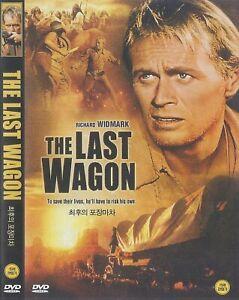 The Last Wagon (1956) Richard Widmark / Felicia Farr DVD NEW *FAST SHIPPING*