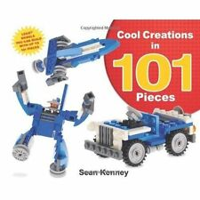 Cool Creations in 101 Pieces (Christy Ottaviano Books)-ExLibrary