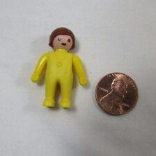 Vintage PLAYMOBIL BABY GIRL CHILD Yellow PJs Mansion Dollhouse 5311 5502 3593