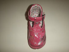 LITTLE MARY CHAUSSURES MONTANTES EN CUIR POINTURE 20 ROSE FUSCHIA