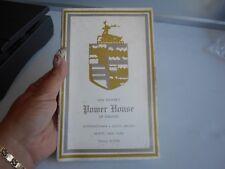 Vintage Win Power's Power House Of Liquors Catalog 1959