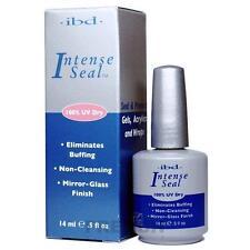 IBD Intense Seal UV dry shiney glossy clear top coat  0.5oz 14ml