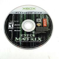 Enter the Matrix (Microsoft Xbox, 2003) DISC ONLY - Cleaned, Resurfaced & Tested